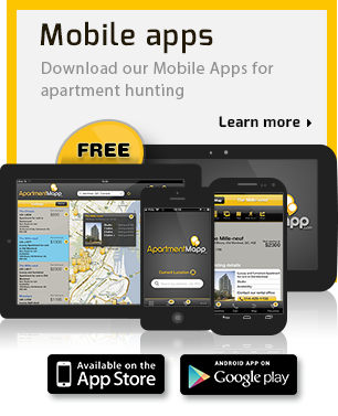 Check Out Our Mobile App For Finding Apartments And Room Rentals In Canada,  Watch Rental Videos On Our Youtube Channel And Get A Moving Quote