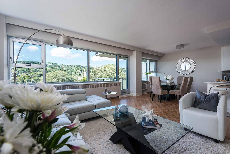 luxurious 3 bedroom Apartments for rent in Westmount at 4300 de Maisonneuve West - Photo 02 - RentQuebecApartments – L2168