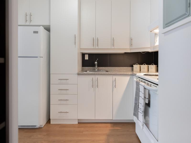 Studio / Bachelor Apartments for rent in Quebec City at Le Benoit XV - Photo 04 - RentQuebecApartments – L401552