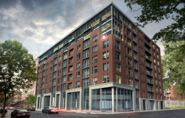 luxurious Studio / Bachelor Condos for rent in Montreal at 1255 de Bullion - Photo 01 - RentQuebecApartments – L119807