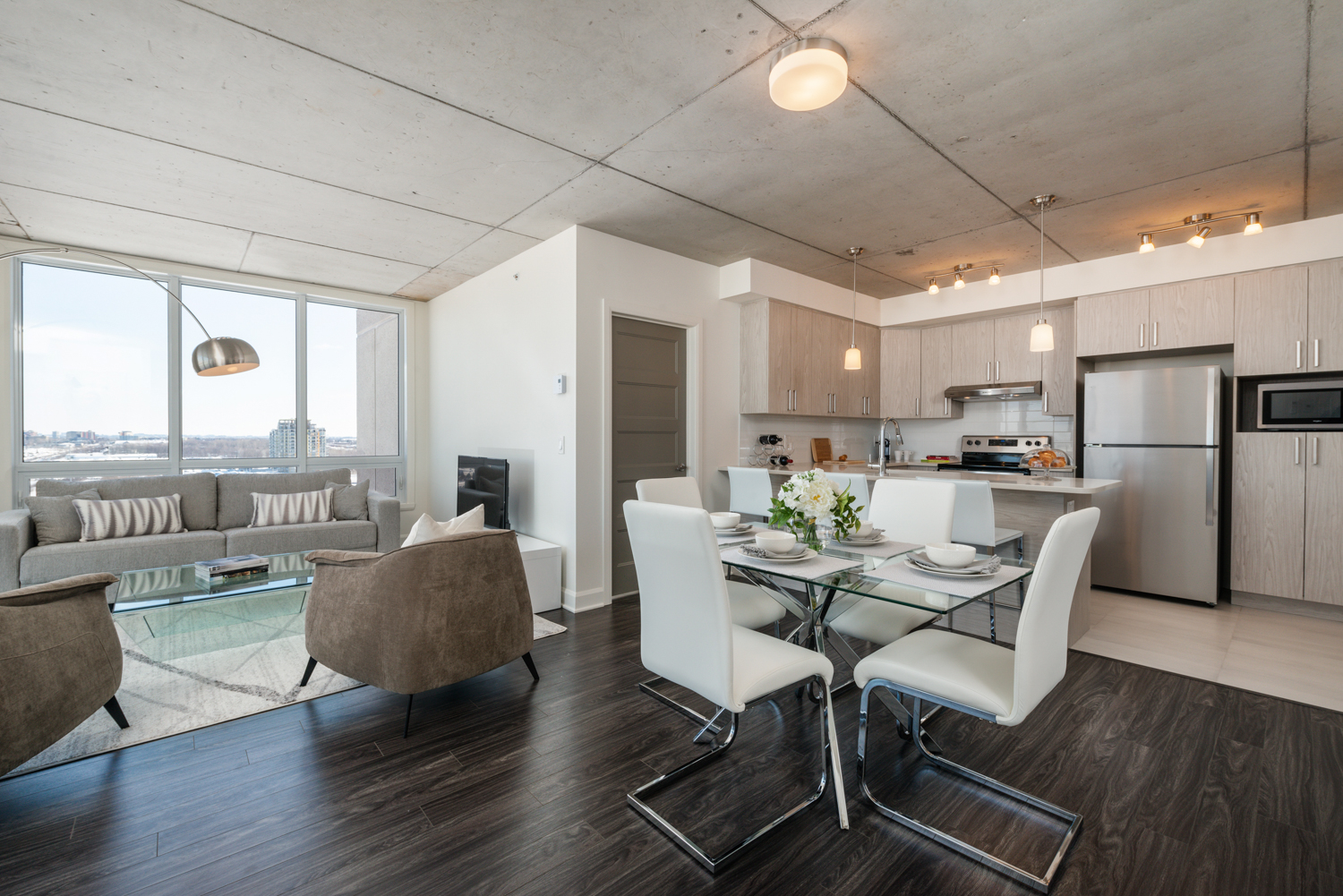 3 bedroom Apartments for rent in Laval at Axial Towers - Photo 02 - RentQuebecApartments – L401511
