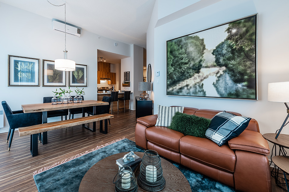 luxurious 3 bedroom Apartments for rent in Pointe-Claire at La Voile Pointe-Claire - Photo 02 - RentQuebecApartments – L403117