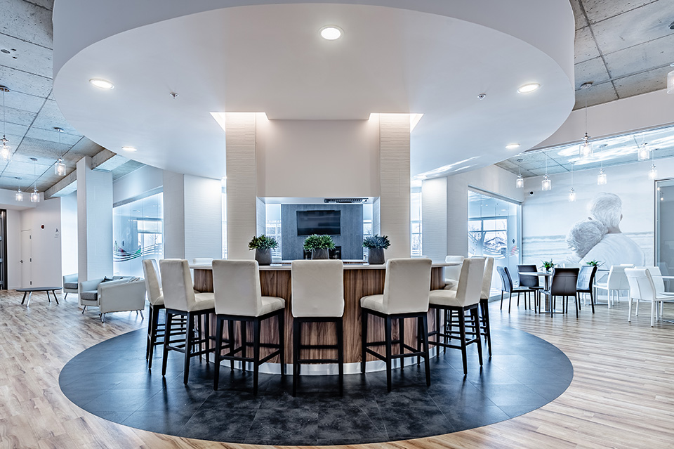 luxurious 2 bedroom Apartments for rent in Pointe-Claire at La Voile Pointe-Claire - Photo 12 - RentQuebecApartments – L403117