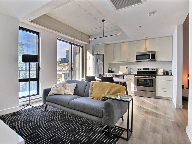 1 bedroom Apartments for rent in Montreal (Downtown) at Le Saint M2 - Photo 02 - RentQuebecApartments – L295572