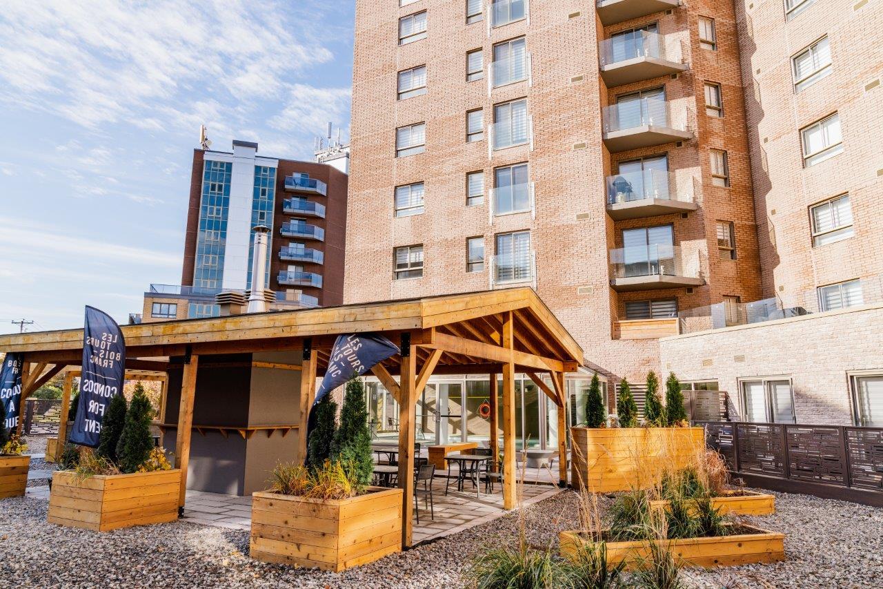 luxurious 1 bedroom Apartments for rent in Ville St-Laurent - Bois-Franc at Tours Bois-Franc - Photo 06 - RentQuebecApartments – L403166