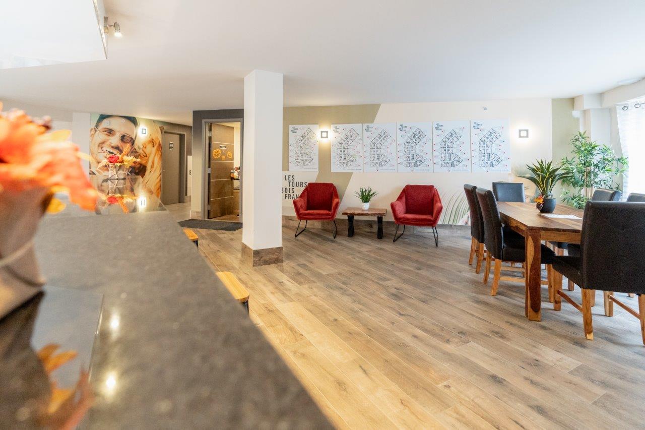 luxurious 1 bedroom Apartments for rent in Ville St-Laurent - Bois-Franc at Tours Bois-Franc - Photo 04 - RentQuebecApartments – L403166