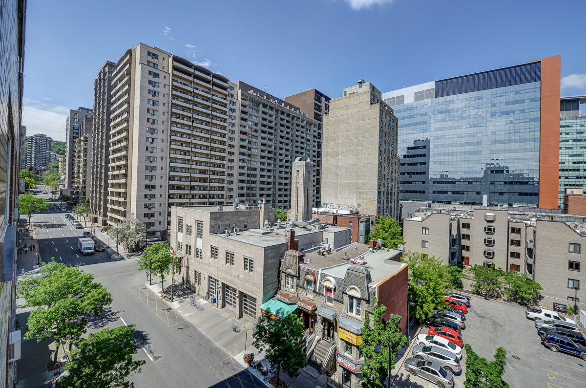 Montreal (Downtown) 1 bedroom apartments for Rent at 1420 ...