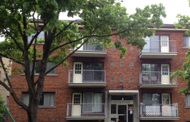 Studio / Bachelor Apartments for rent in Sainte-Anne-de-Bellevue at Maple Brown - Photo 01 - RentQuebecApartments – L112098