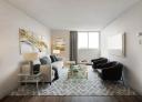 Studio / Bachelor Apartments for rent in Nuns' Island at Hi-Rise 4 - Photo 01 - RentQuebecApartments – L407154