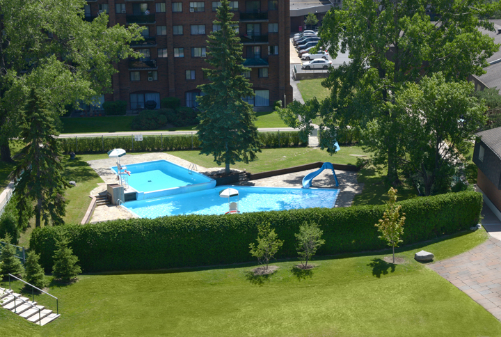 furnished Studio / Bachelor Apartments for rent in Pointe-Claire at Southwest One - Photo 02 - RentQuebecApartments – L21538