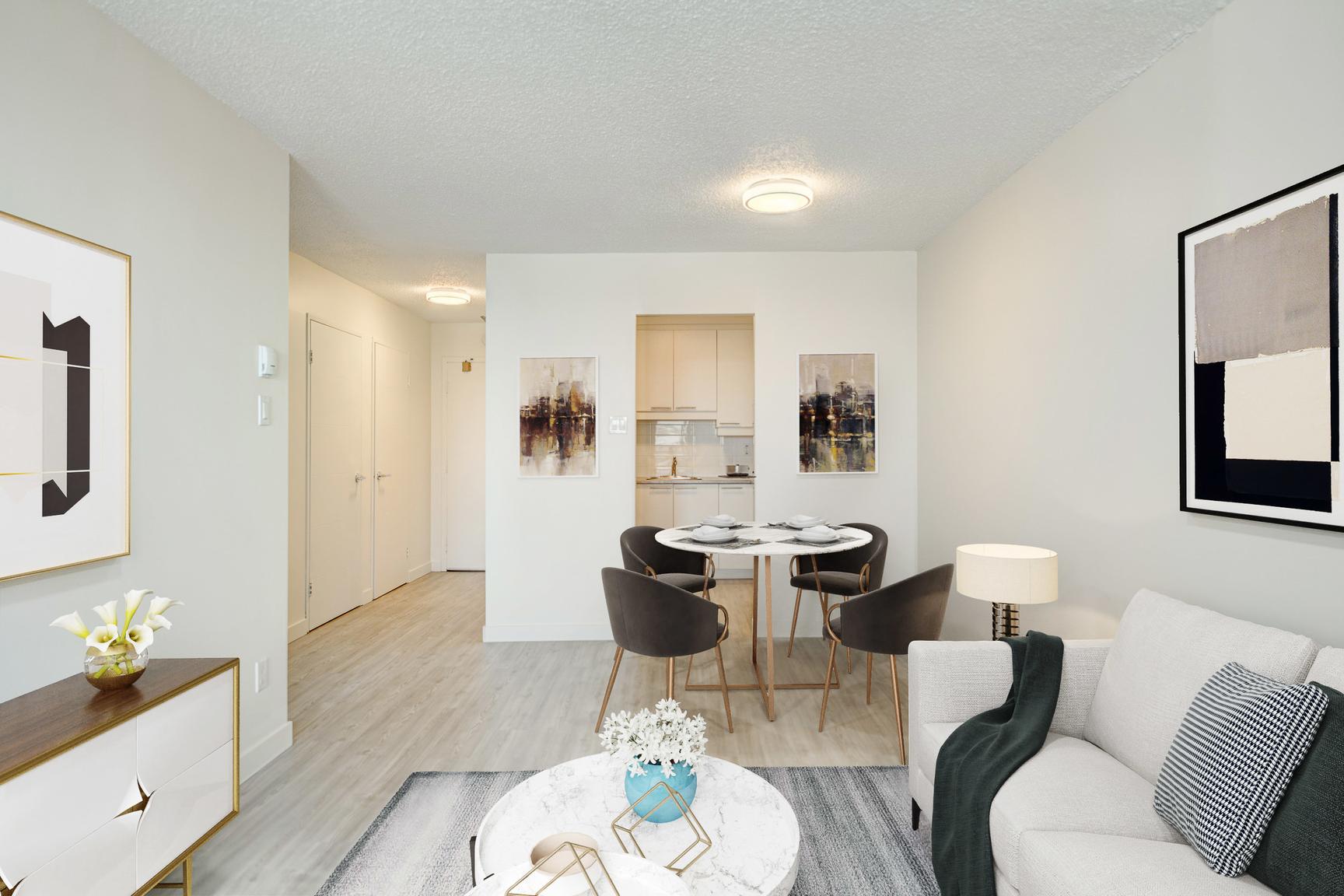 2 bedroom Apartments for rent in Laval at Le Quatre Cent - Photo 01 - RentQuebecApartments – L407185