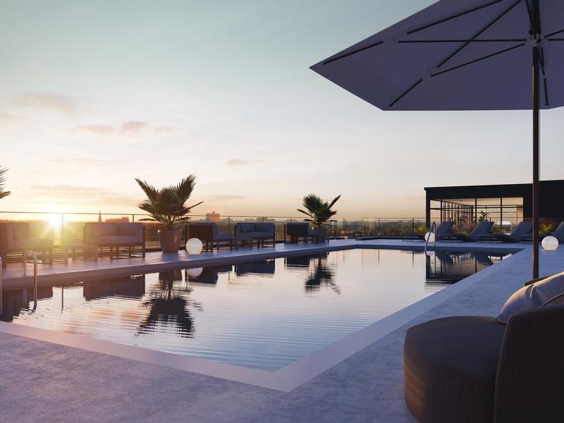 Studio / Bachelor Apartments for rent in Ville St-Laurent - Bois-Franc at Vita - Photo 04 - RentQuebecApartments – L405441