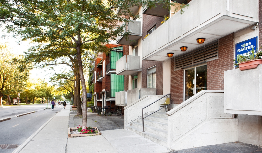 1 bedroom Apartments for rent in Plateau Mont-Royal at 1595 Rachel - Photo 02 - RentQuebecApartments – L9516