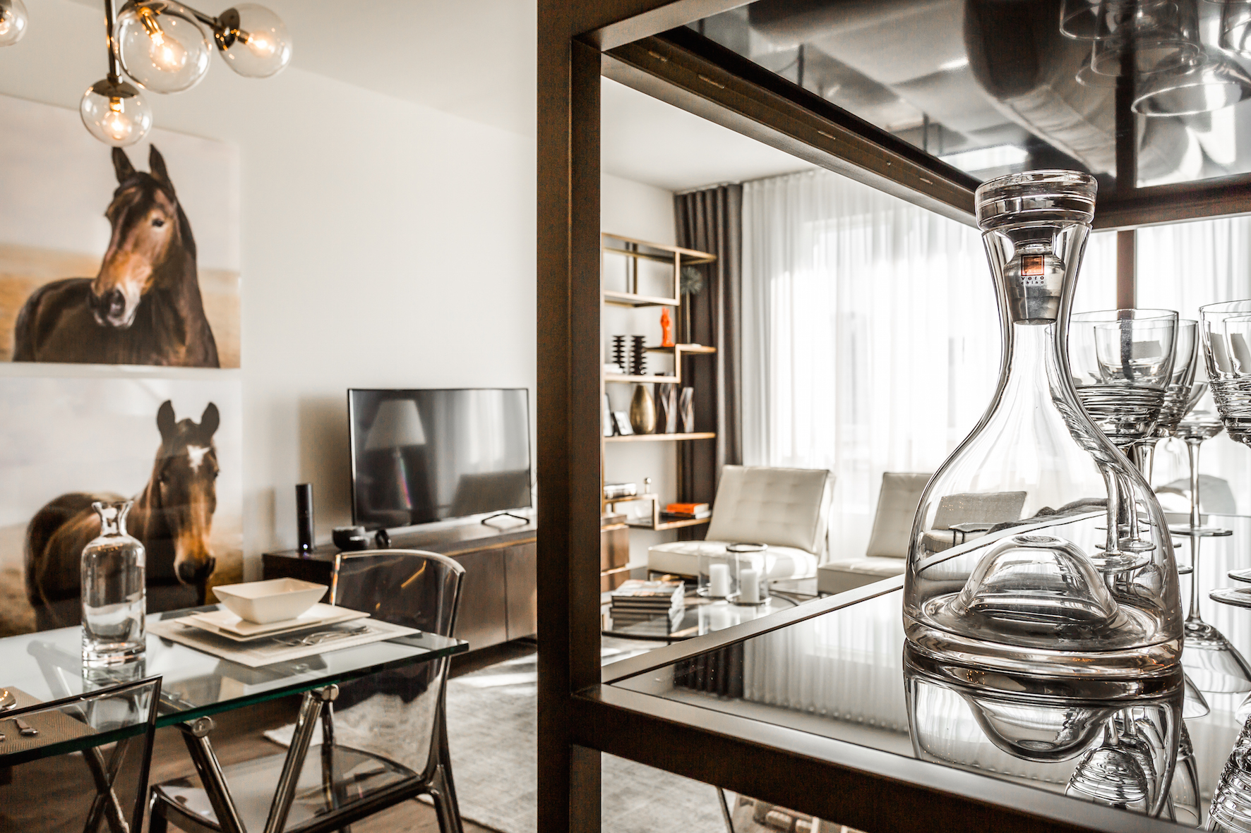 luxurious 1 bedroom Condos for rent in Cote-St-Luc at Collection Equinoxe - Marc Chagall - Photo 06 - RentQuebecApartments – L293821