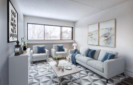 1 bedroom Apartments for rent in Quebec City at Les Jardins de Merici - Photo 01 - RentQuebecApartments – L407121
