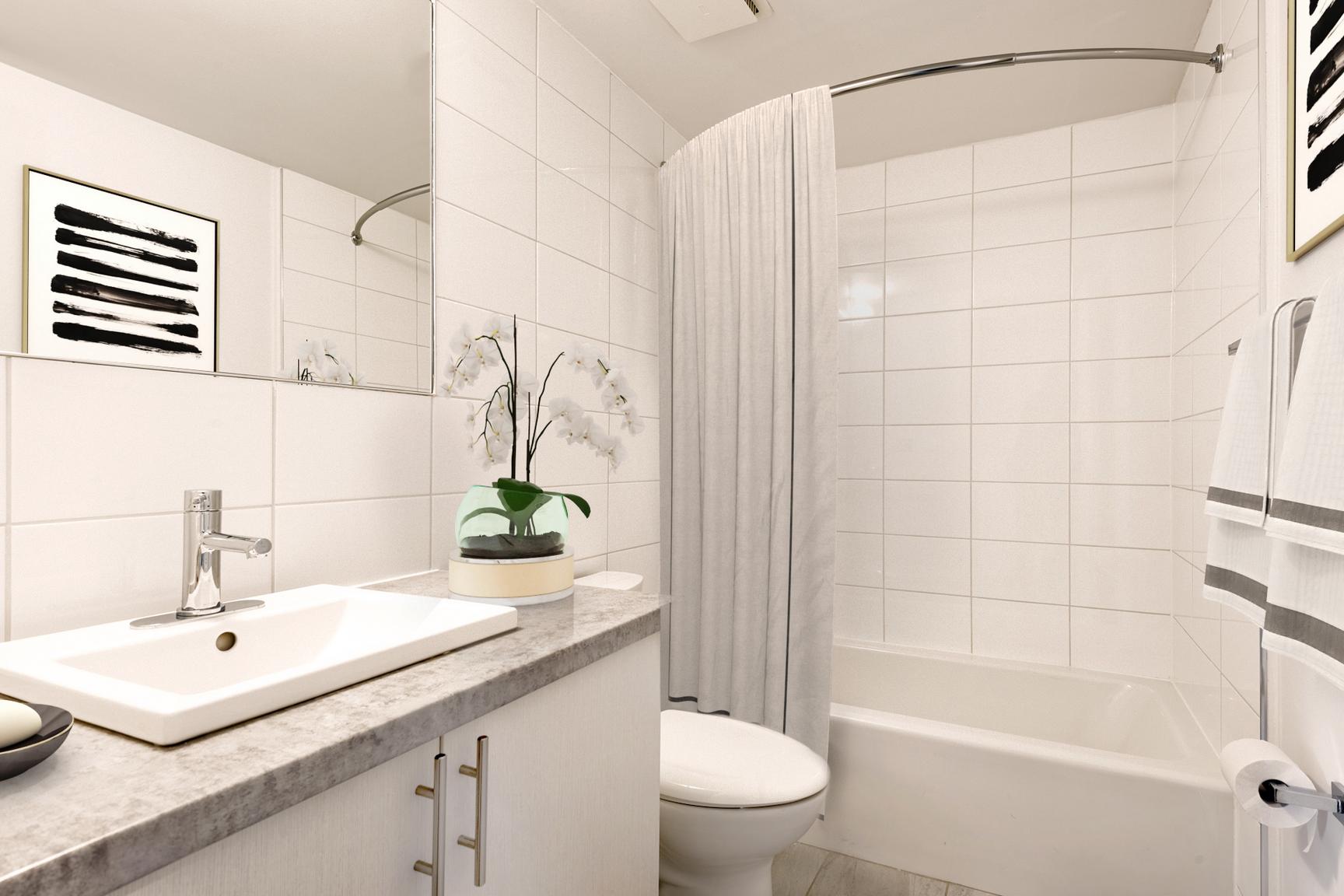 1 bedroom Apartments for rent in Ville St-Laurent - Bois-Franc at Complexe Deguire - Photo 12 - RentQuebecApartments – L407181