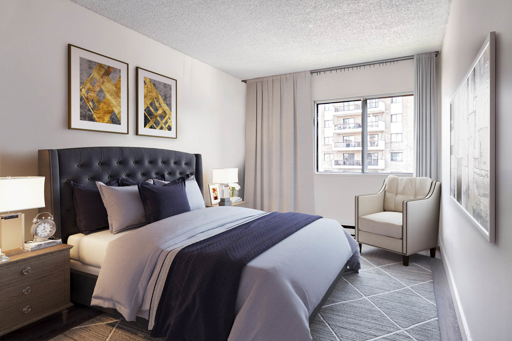 1 bedroom Apartments for rent in Ville St-Laurent - Bois-Franc at Complexe Deguire - Photo 03 - RentQuebecApartments – L407181