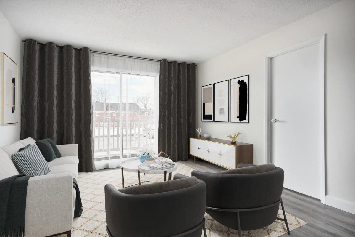 1 bedroom Apartments for rent in Quebec City at Les Appartements du Verdier - Photo 02 - RentQuebecApartments – L407122