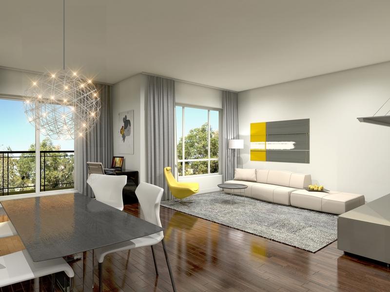 1 bedroom Apartments for rent in Pointe-Claire at H1 Harmonie Urbaine - Photo 03 - RentQuebecApartments – L323426