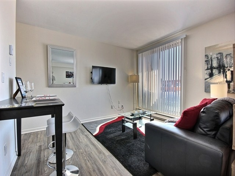 1 bedroom Apartments for rent in La Cite-Limoilou at Le Complexe Montserrat - Photo 01 - RentQuebecApartments – L168592