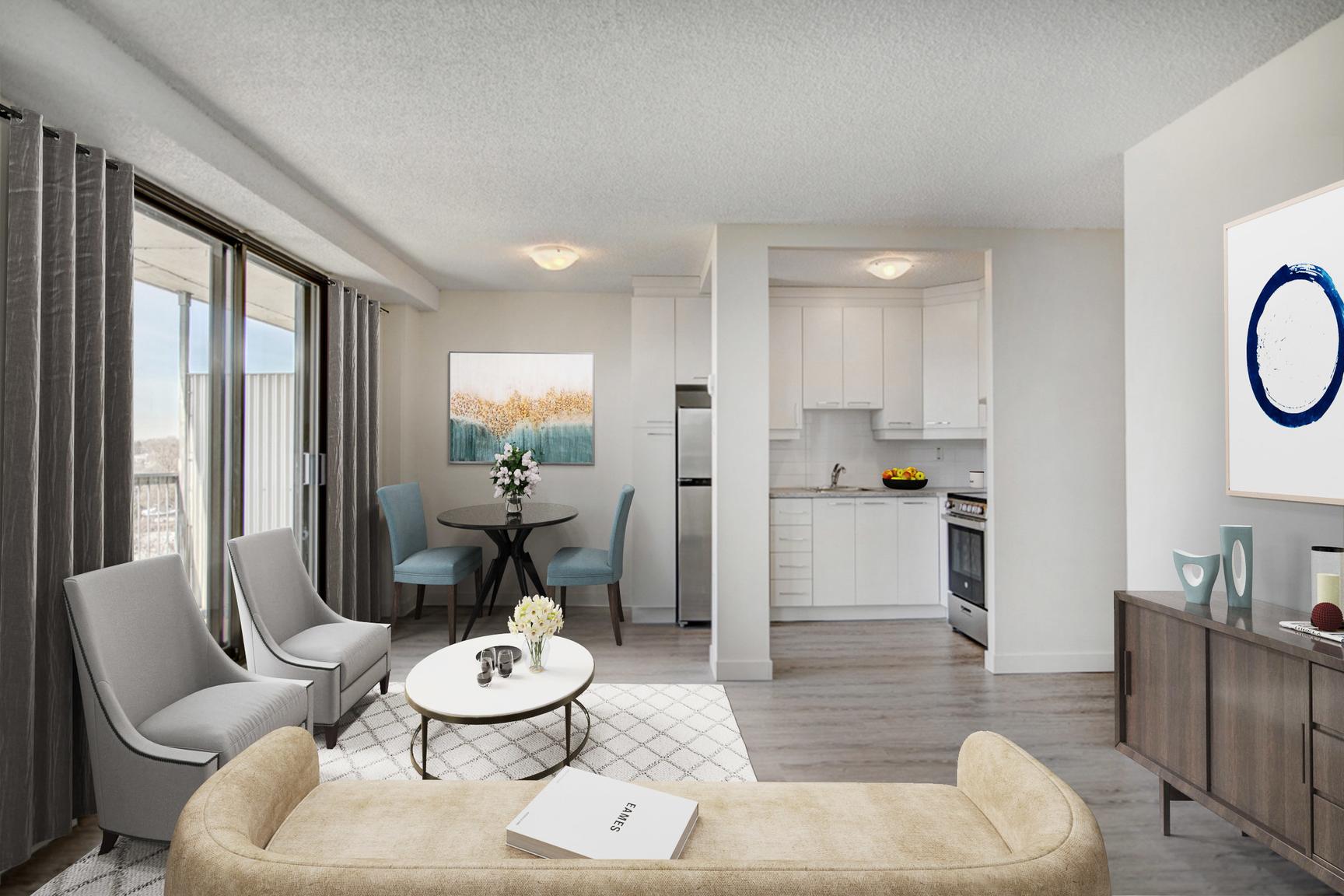 1 bedroom Apartments for rent in Laval at Le Quatre Cent - Photo 06 - RentQuebecApartments – L407184