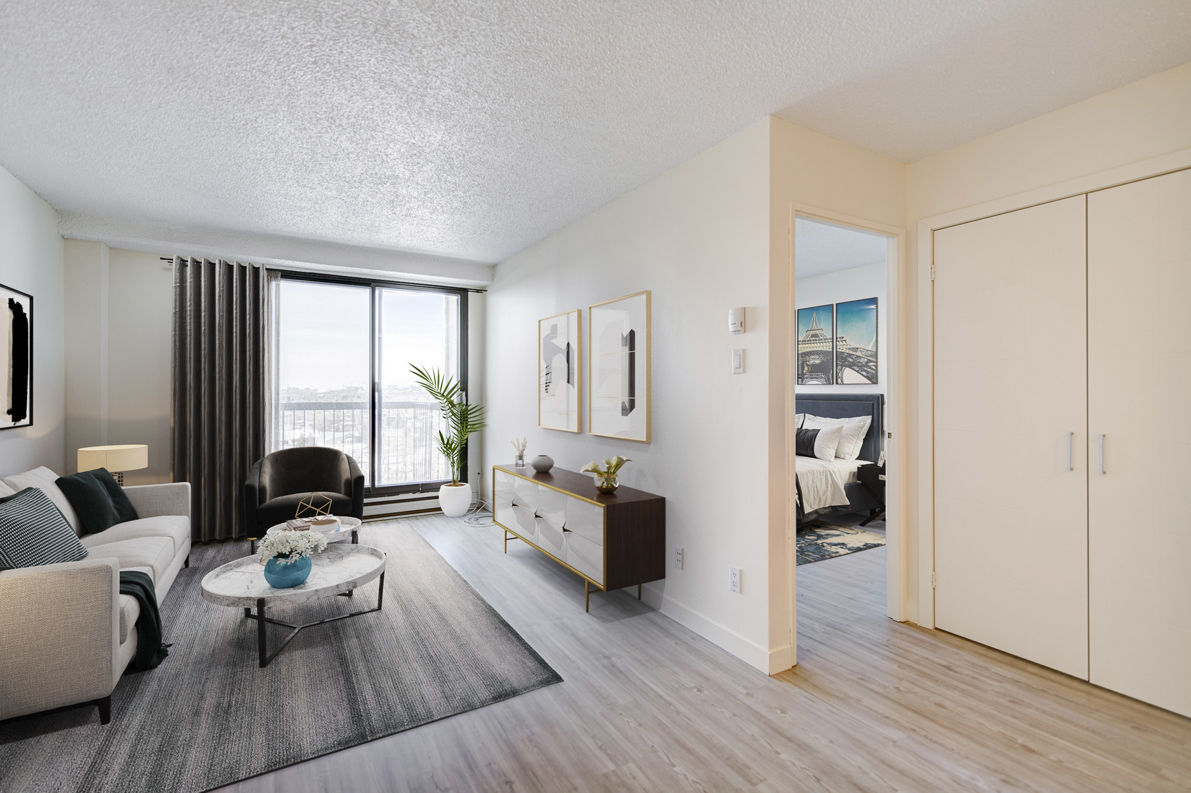 1 bedroom Apartments for rent in Laval at Le Quatre Cent - Photo 02 - RentQuebecApartments – L407184