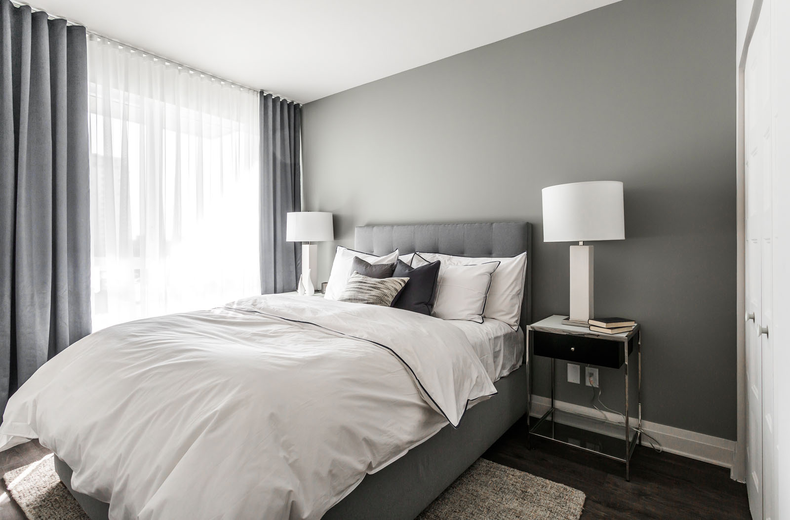 luxurious 1 bedroom Condos for rent in Laval at Collection Equinoxe - Levesque - Photo 09 - RentQuebecApartments – L351126