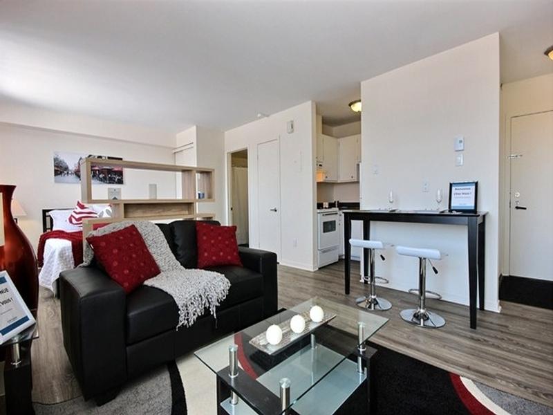 Studio / Bachelor Apartments for rent in La Cite-Limoilou at Le Complexe Montserrat - Photo 12 - RentQuebecApartments – L168591