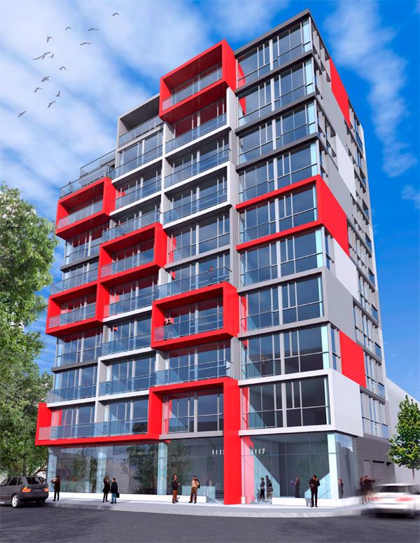 luxurious 1 bedroom Apartments for rent in Montreal (Downtown) at Le Rubic - Photo 04 - RentQuebecApartments – L198455