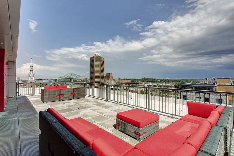 luxurious 1 bedroom Apartments for rent in Montreal (Downtown) at Le Rubic - Photo 06 - RentQuebecApartments – L198455