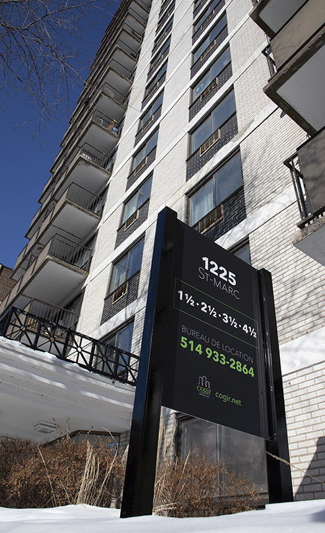 Studio / Bachelor Apartments for rent in Montreal (Downtown) at Le Marco Appartements - Photo 03 - RentQuebecApartments – L401544