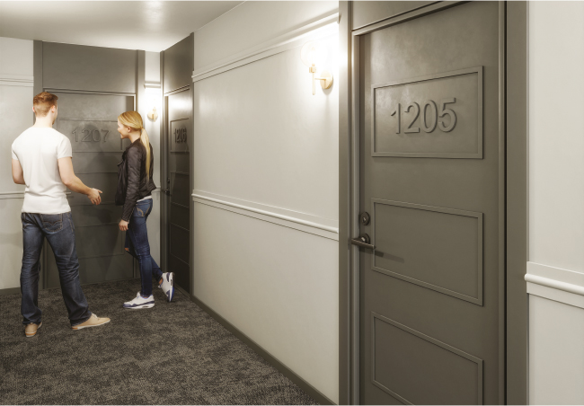 Studio / Bachelor Apartments for rent in Montreal (Downtown) at Le Marco Appartements - Photo 17 - RentQuebecApartments – L401544