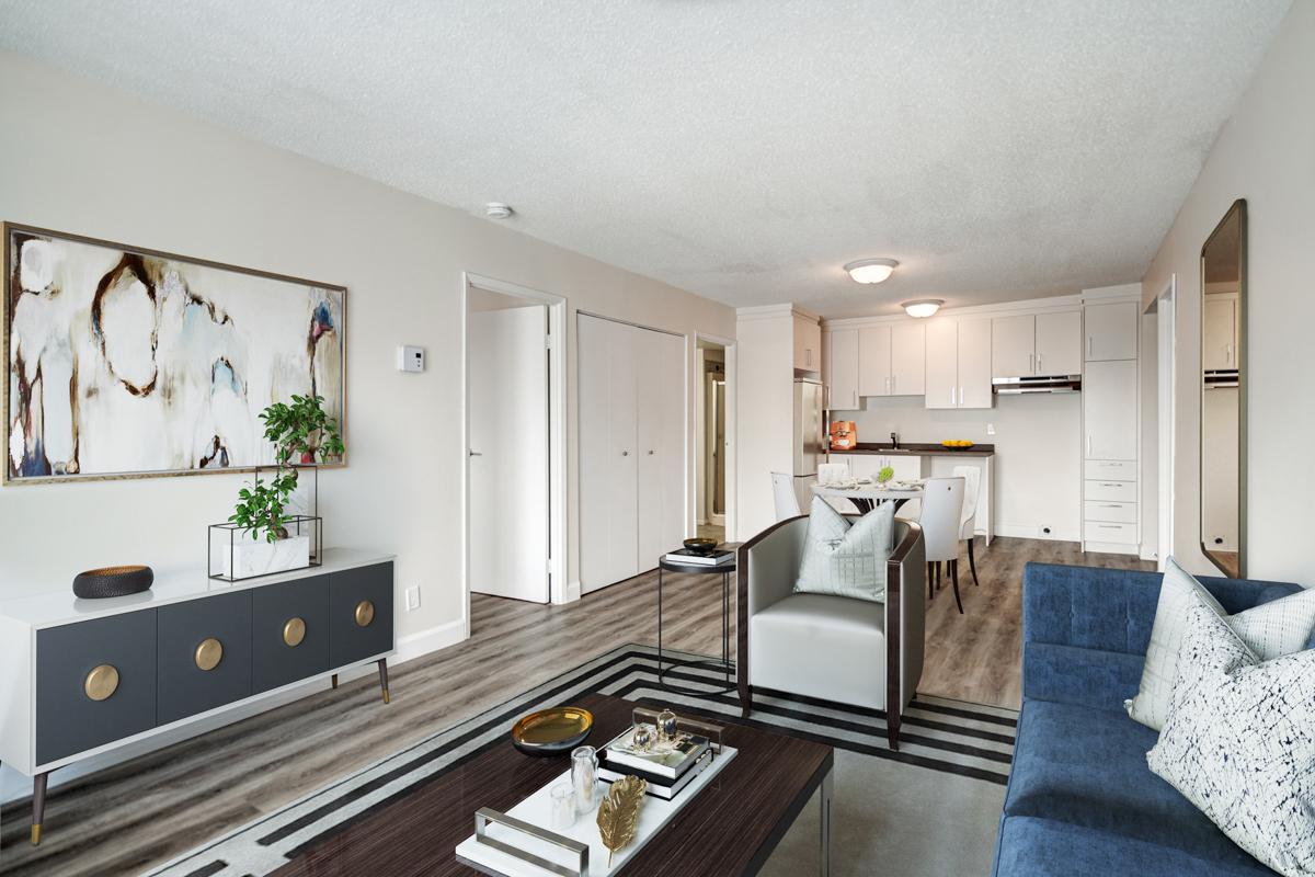 2 bedroom Apartments for rent in Quebec City at Les Appartements du Verdier - Photo 06 - RentQuebecApartments – L407124