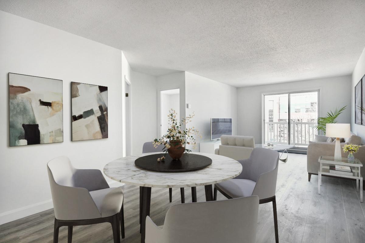 2 bedroom Apartments for rent in Quebec City at Les Appartements du Verdier - Photo 12 - RentQuebecApartments – L407124