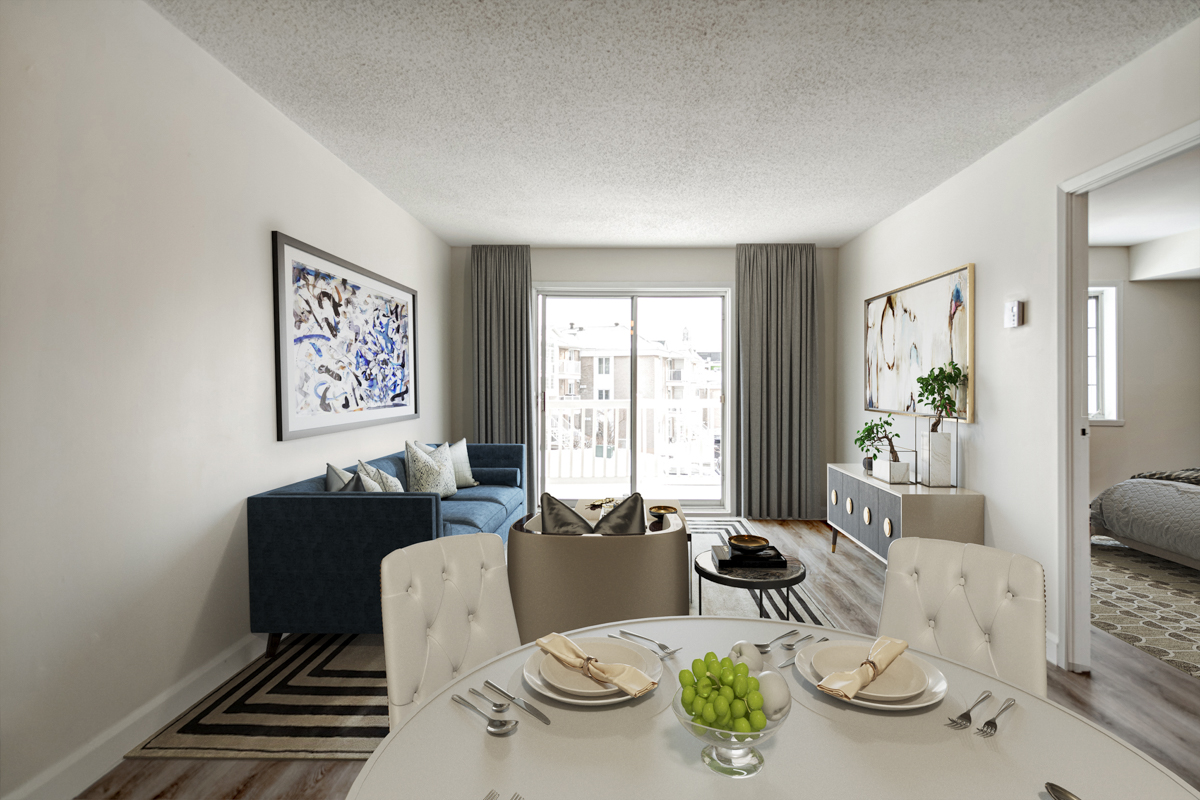 2 bedroom Apartments for rent in Quebec City at Les Appartements du Verdier - Photo 07 - RentQuebecApartments – L407124