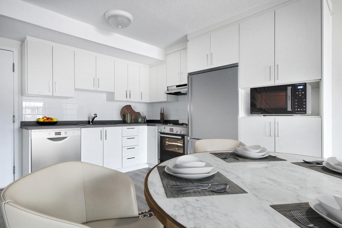 2 bedroom Apartments for rent in Quebec City at Les Appartements du Verdier - Photo 03 - RentQuebecApartments – L407124