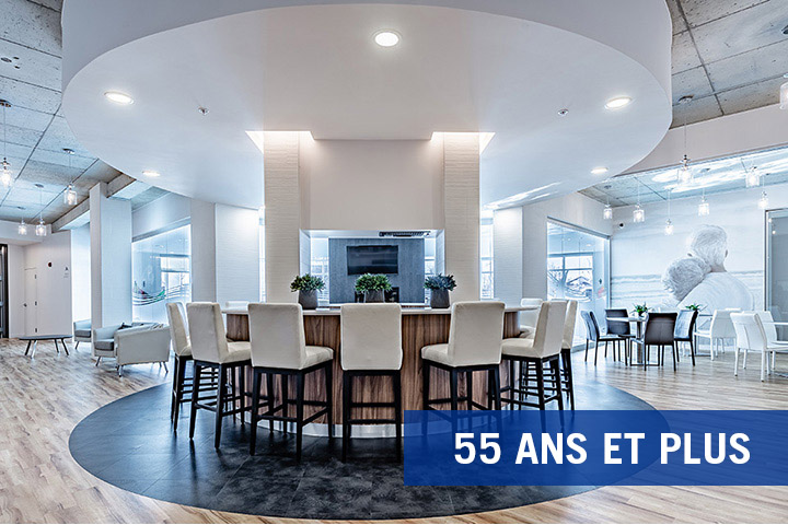 luxurious 1 bedroom Apartments for rent in Boisbriand at La Voile Boisbriand - Photo 08 - RentQuebecApartments – L401685