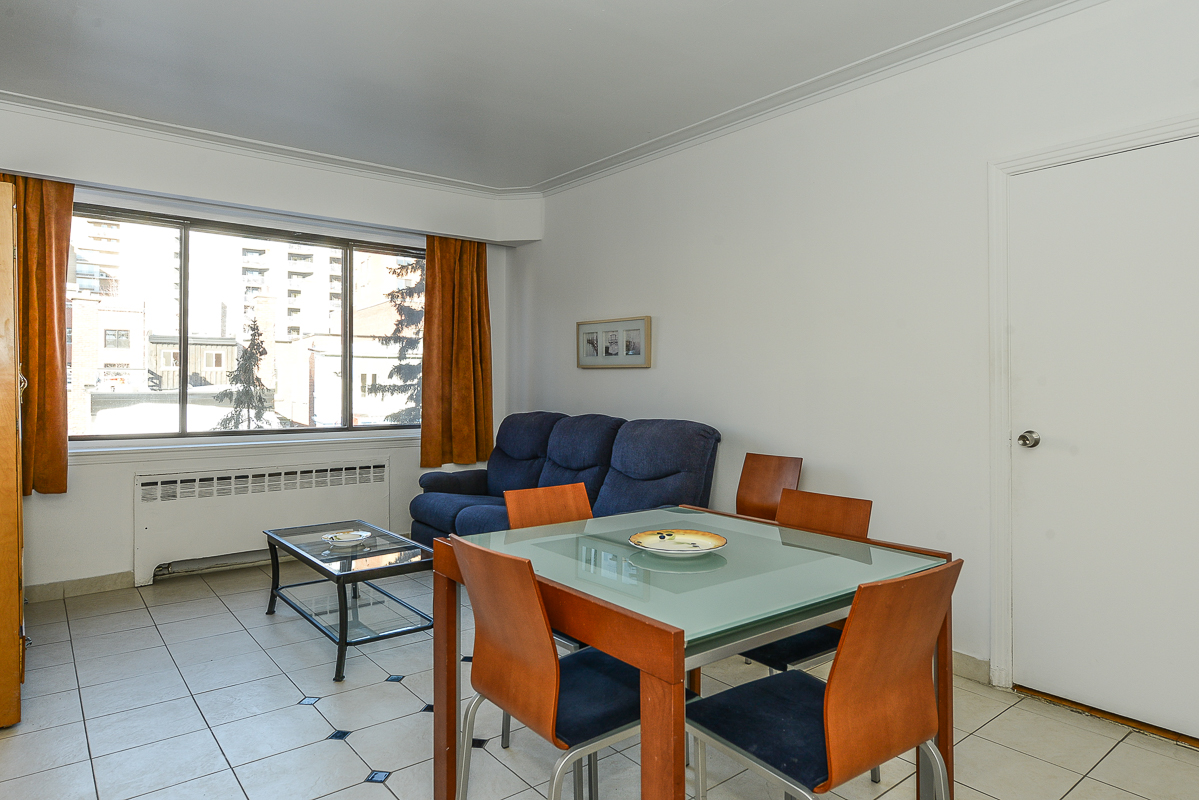 furnished 1 bedroom Apartments for rent in Montreal (Downtown) at Guy concordia Metro - Photo 07 - RentQuebecApartments – L1725