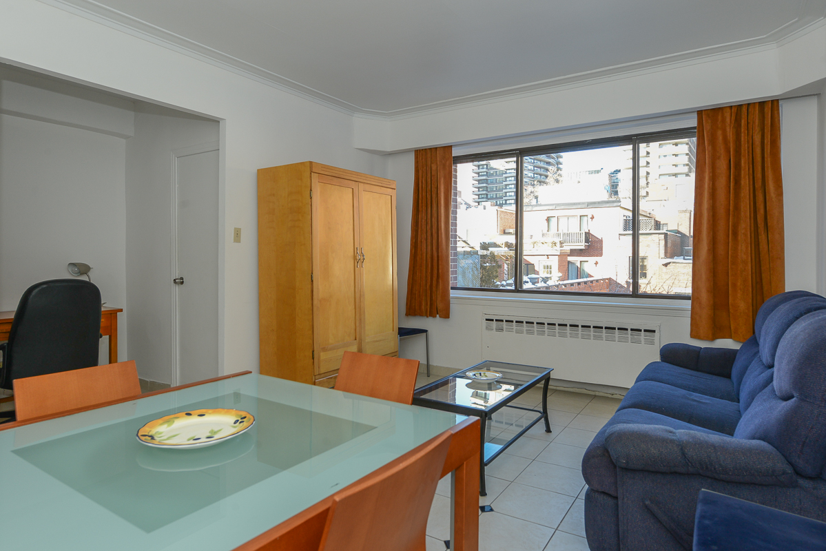 furnished 1 bedroom Apartments for rent in Montreal (Downtown) at Guy concordia Metro - Photo 08 - RentQuebecApartments – L1725