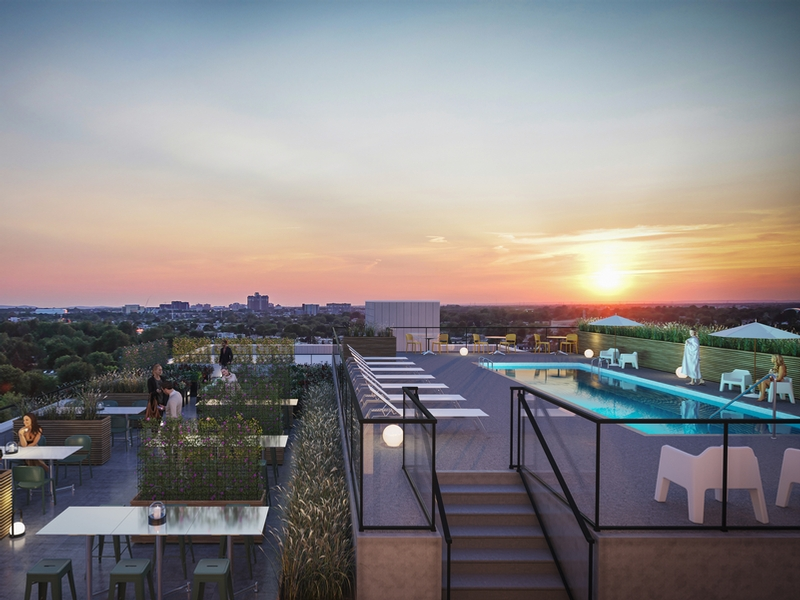 Studio / Bachelor Apartments for rent in Laval at Milo - Photo 05 - RentQuebecApartments – L405437