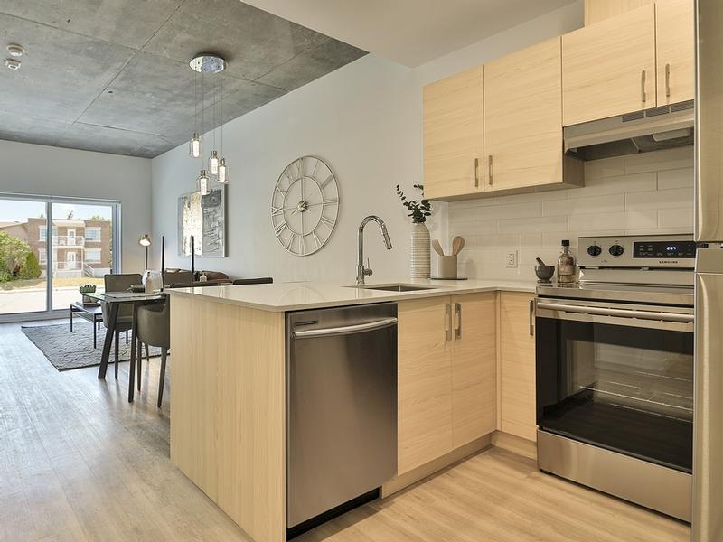 Studio / Bachelor Apartments for rent in Laval at Milo - Photo 12 - RentQuebecApartments – L405437