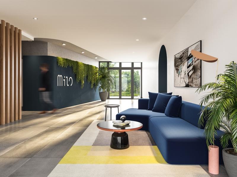 Studio / Bachelor Apartments for rent in Laval at Milo - Photo 02 - RentQuebecApartments – L405437
