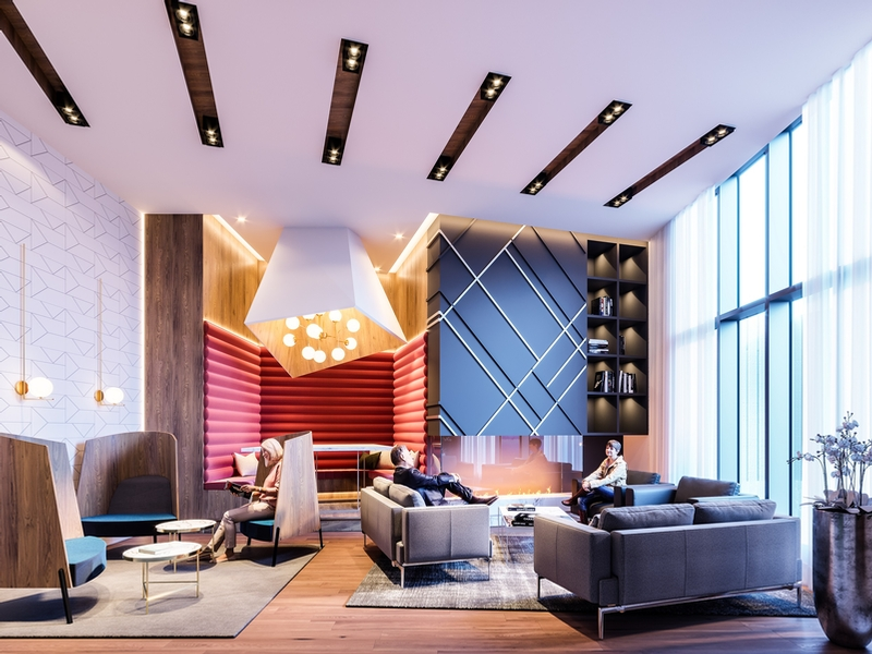 1 bedroom Apartments for rent in Candiac at Mostra Candiac - Photo 02 - RentQuebecApartments – L405434