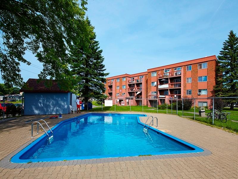 3 bedroom Apartments for rent in La Cite-Limoilou at Le Complexe Montserrat - Photo 03 - RentQuebecApartments – L168594