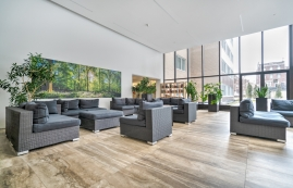 luxurious 1 bedroom Apartments for rent in Montreal (Downtown) at Le Parc - Photo 01 - RentQuebecApartments – L2099