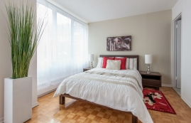 2 bedroom Penthouses for rent in Cote-des-Neiges at Rockhill - Photo 01 - RentQuebecApartments – L1126