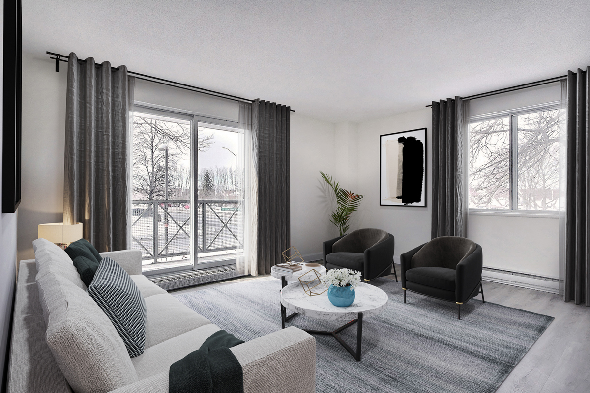 1 bedroom Apartments for rent in Quebec City at Complexe Laudance - Photo 09 - RentQuebecApartments – L407138